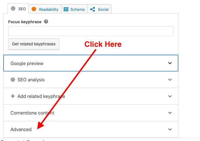 Canonical URL In WordPress