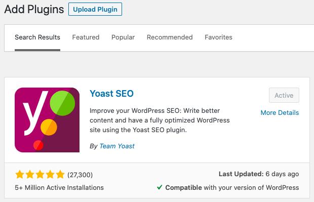 Must Have WordPress Plugins Yoast SEO