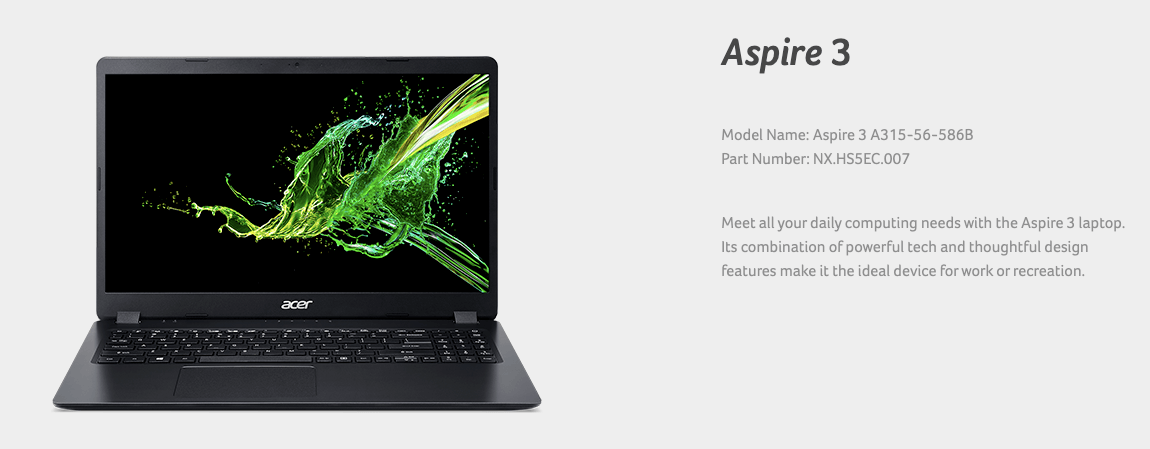 Best Laptop Under 45000 In India Acer Aspire 3 A315-56