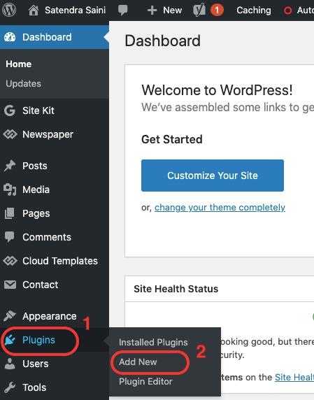 How To Install plugin in WordPress