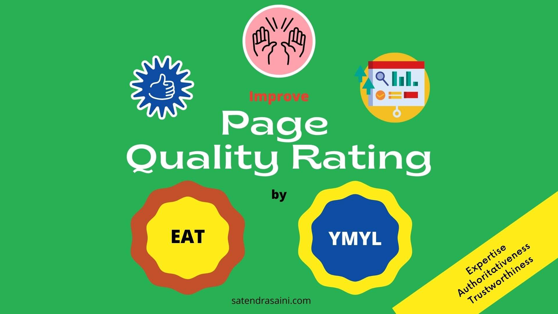 Page Quality Rating E.A.T. YMYL