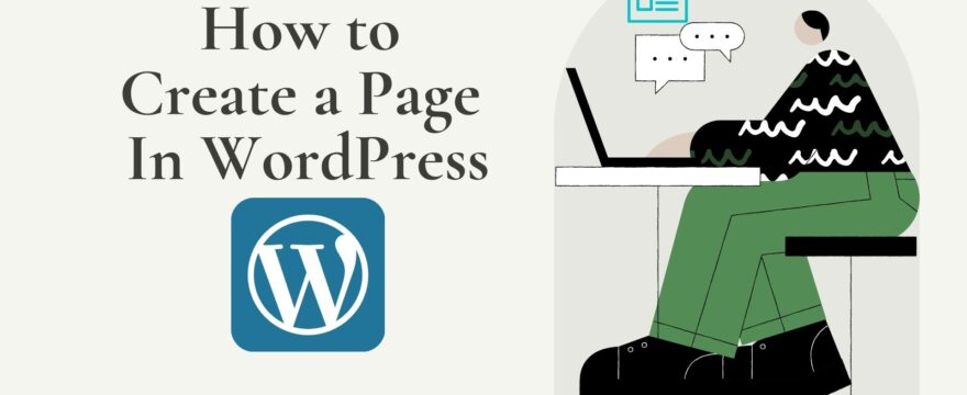 How to Create a page in WordPress