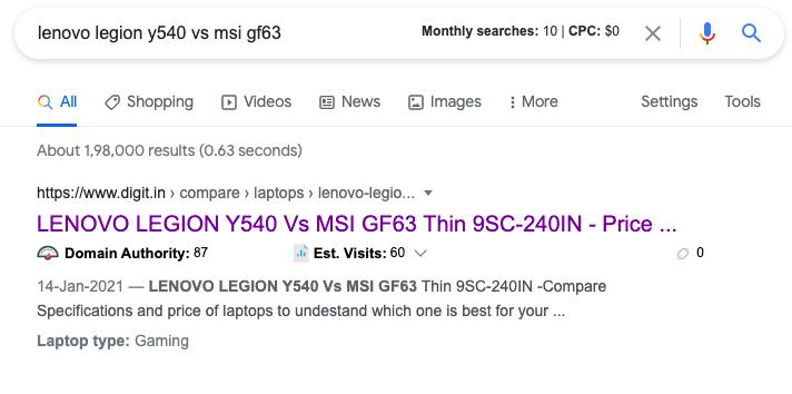 keyword research google free