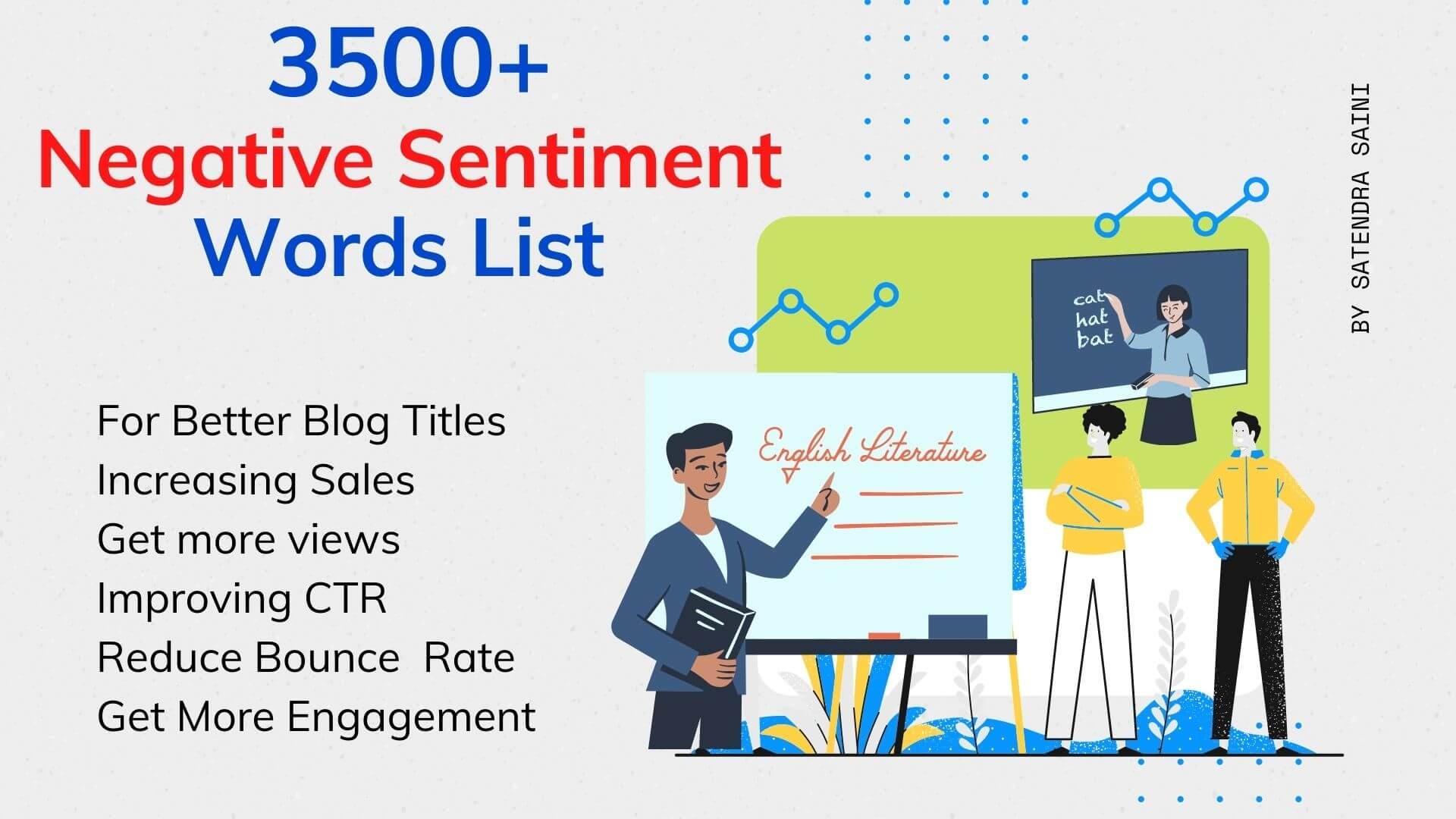 Negative Sentiment Words List