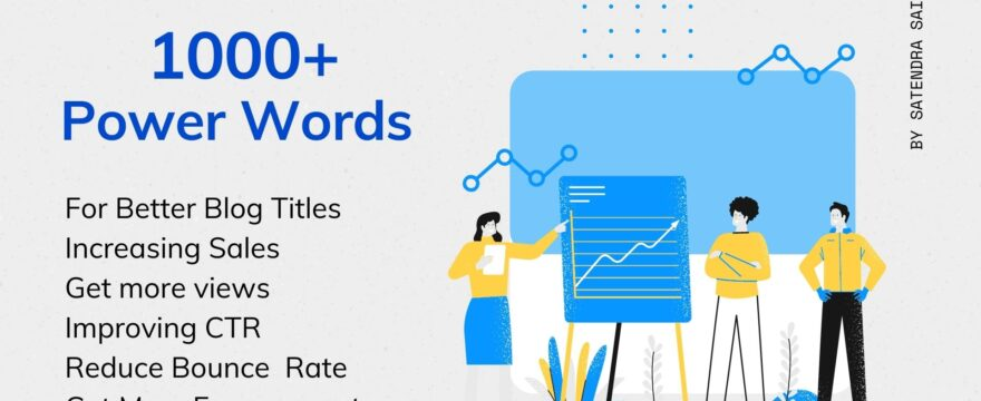 Power Words for blog titles