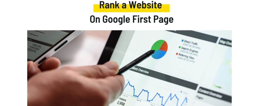 How to Rank a Website On Google First Page